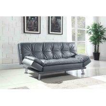 Dilleston Contemporary Dark Grey Sofa Bed