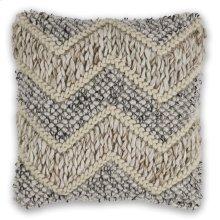 """Pillow L340 Beige/grey Elements 18"""" X 18"""""""