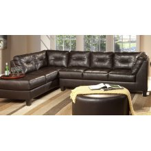 San Marino Chocolate Sectional