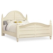 Bedroom Sandcastle Queen Wood Panel Bed