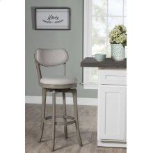 Sloan Swivel Bar Stool - Aged Gray