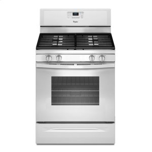 5.0 Cu. Ft. Freestanding Gas Range with AccuBake® Temperature Management System - WHITE