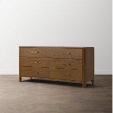 MODERN Catania 6 Drawer Dresser