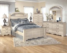Catalina - Antique White Poster Bedroom Set