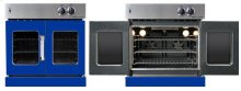 Residential Wall Oven, French Door Wall Oven , Blue Color