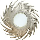 Transitional Antique Silver Mirror Product Image