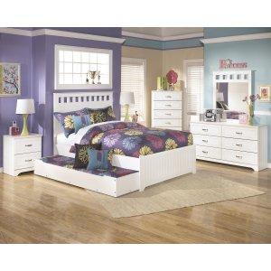 AshleySIGNATURE DESIGN BY ASHLEYLulu - White 3 Piece Bed Set (Full)