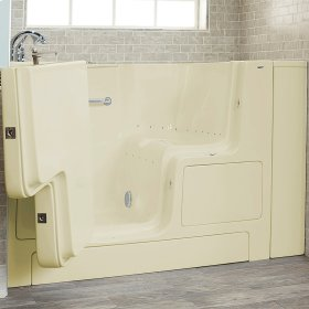 Value Series 32x52-inch Air Massage Walk-In Tub  Out-swing Door  American Standard - Linen