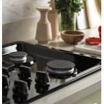 """GE ®36"""" Built-In Gas Cooktop with Dishwasher-Safe Grates"""