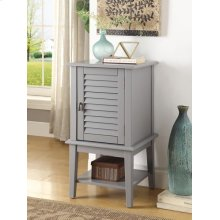 LIGHT GRAY FLOOR CABINET