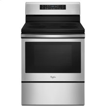 5.3 cu. ft. Guided Electric Front Control Range with Fan Convection Cooking
