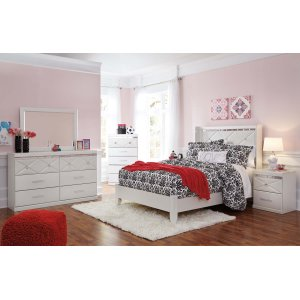 Ashley Furniture Dreamur - Champagne 2 Piece Bed Set (Full)