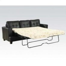 Black Bnd L. Sofa W/q. Sleeper