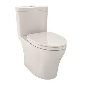 Aquia® IV - Toilet - 1.28 GPF / 0.8 GPF - with Seat - Sedona Beige