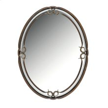 Duchess Mirror in Palladian Bronze