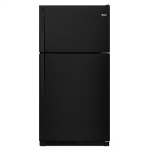 33-inch Wide Top Freezer Refrigerator - 20 cu. ft. - BLACK