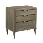 AD Modern Classics Aiken Three Drawer Nightstand Product Image