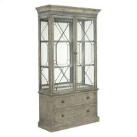 Savona Larsson Display Cabinet Complete Product Image
