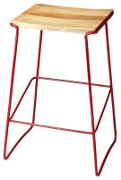 This stationary bar stool has a contemporary design and are perfect for the individual who wants style and reliability at an affordable price. Perfect for a cafe, restaurant, or office, this stool will look great wherever you decide to put it. This bar st Product Image