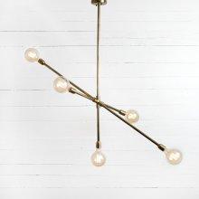 Thalia Chandelier-antique Brass