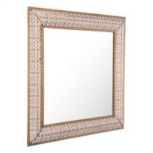 Moroccan Escamas Mirror Antique Gold