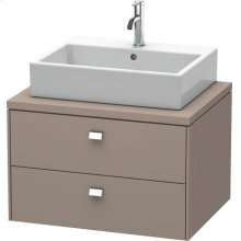 Brioso Vanity Unit For Console, Basalt Matt (decor)