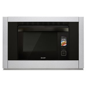SharpSuperSteam+ Super-heated Steam and Convection Built-In Wall Oven