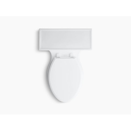 Ice Grey Comfort Height One-piece Elongated 1.28 Gpf Toilet With Aquapiston Flushing Technology and Left-hand Trip Lever