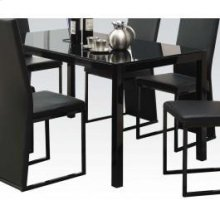 Dining Table W/bk Gl (1pc/1ctn
