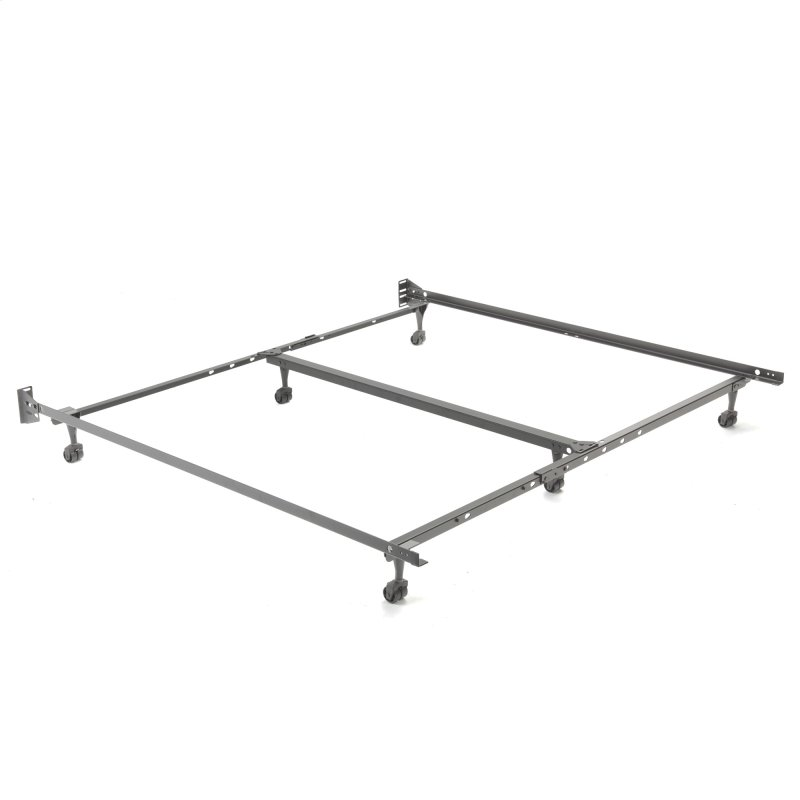 Heritage KQ20R Premium Adjustable Bed Frame With Reversible Headboard Brackets And 6 2