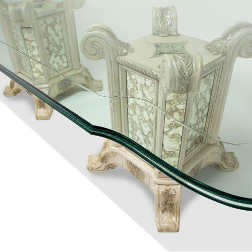 Rectangular Glass Dining Table
