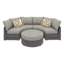 Spring Dew - Gray 3 Piece Patio Set