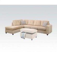 Belville Beige Sectional Sofa