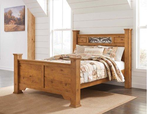 Bittersweet - Light Brown 4 Piece Bed Set (Queen)