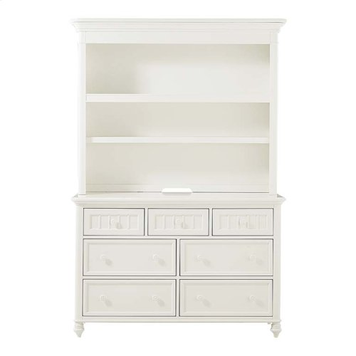 Cotton White Nantucket Hutch