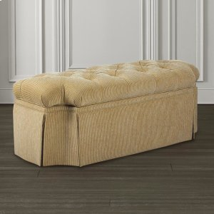 Bassett FurnitureCustom Bench Break Front Storage Bench