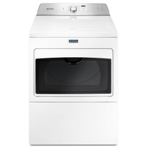 Large Capacity Gas Dryer with IntelliDry® Sensor - 7.4 cu. ft. - WHITE