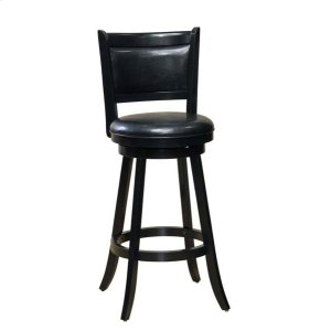 Hillsdale FurnitureDennery Swivel Counter Height Stool - Cherry/black