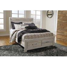 Bellaby - Whitewash 4 Piece Bed Set (Queen)