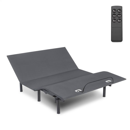 Symmetry EZ Adjustable Bed Base with Head and Foot Articulation, Full XL