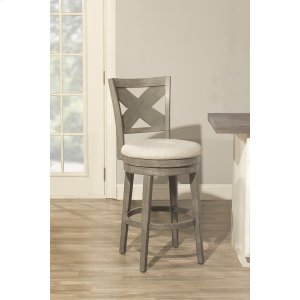 Hillsdale FurnitureSunhill Swivel Bar Stool - Weathered Gray