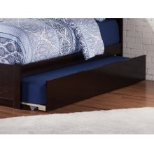 Urban Trundle Bed Twin/Full in Espresso