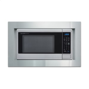 "Sharp AppliancesSharp 30"" Built-in Microwave Oven Trim Kit"