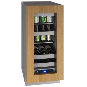 "U-Line 15"" Beverage Center With Integrated Frame Finish and Field Reversible Door Swing (115 V/60 Hz Volts /60 Hz Hz)"