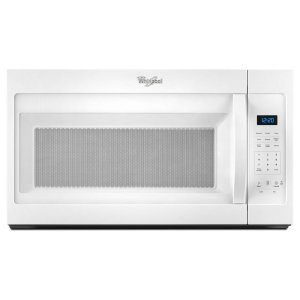 1.7 cu. ft. Microwave Hood Combination with Electronic Controls - WHITE