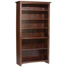 """CAF 72""""H x 36""""W McKenzie Alder Bookcase"""