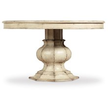Dining Room Auberose 52in Round Pedestal Table