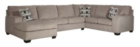 Ballinasloe - Platinum 3 Piece Sectional
