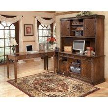Hamlyn - Medium Brown 4 Piece Home Office Set