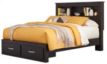 Reylow - Dark Brown 4 Piece Bed Set (Queen) Product Image